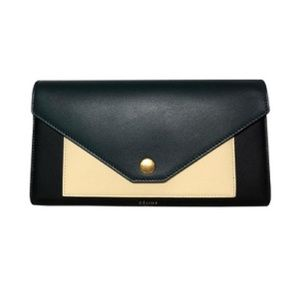 Black Tricolor Multifunction Wallet